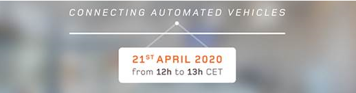 Free Webinar: Connecting Automated Vehicles